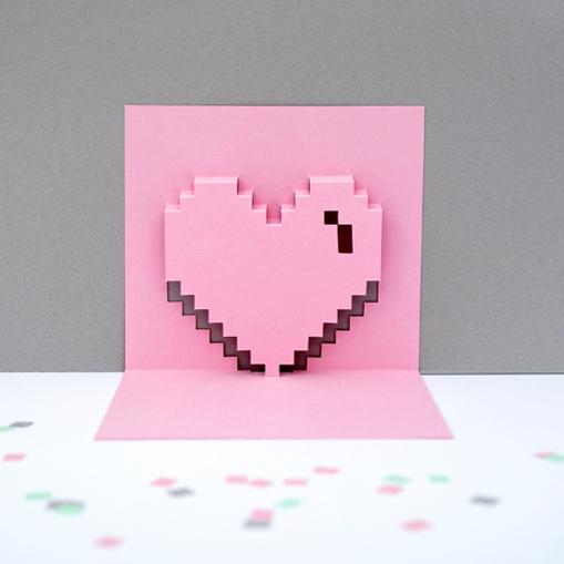 Valentijnskaart DIY